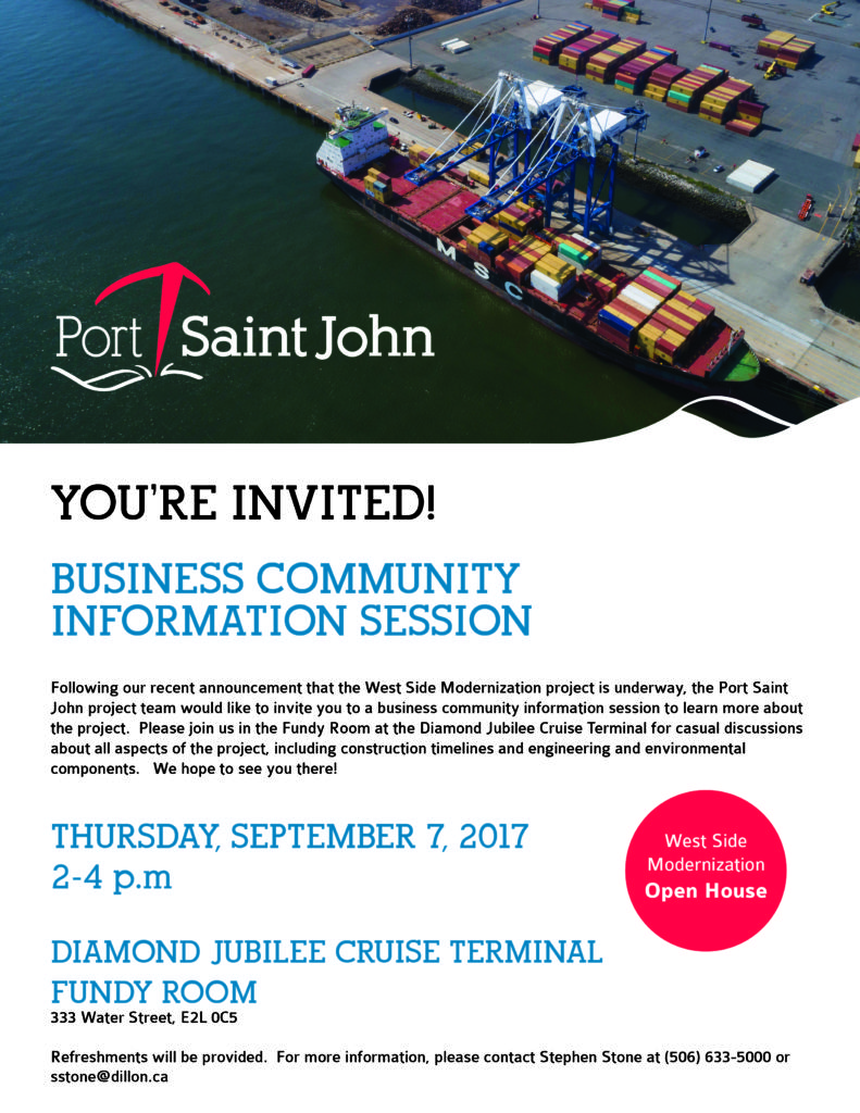 Business Community Information Session