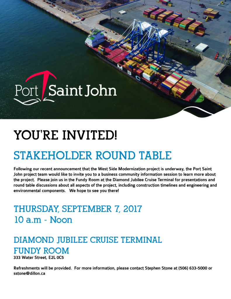West Side Port Stakeholder Round Table Session