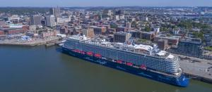 TUI Cruises 2017 - Mein Schiff 6 in Saint John New Brunswick Canada